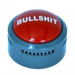 The Official Bullshit Button